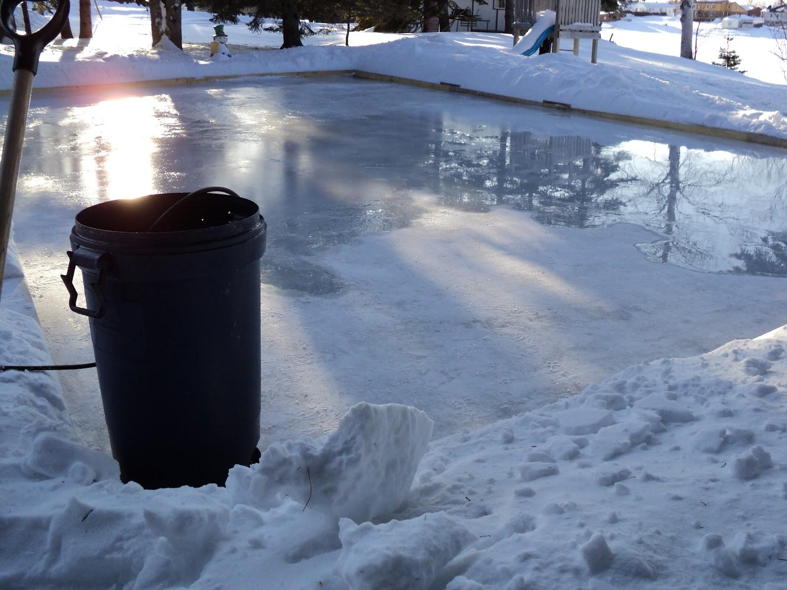 backyard ice