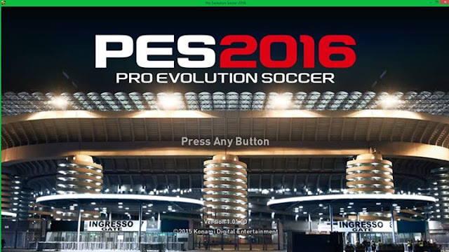 Pro Evolution Soccer PES 2016 For PC Full Version