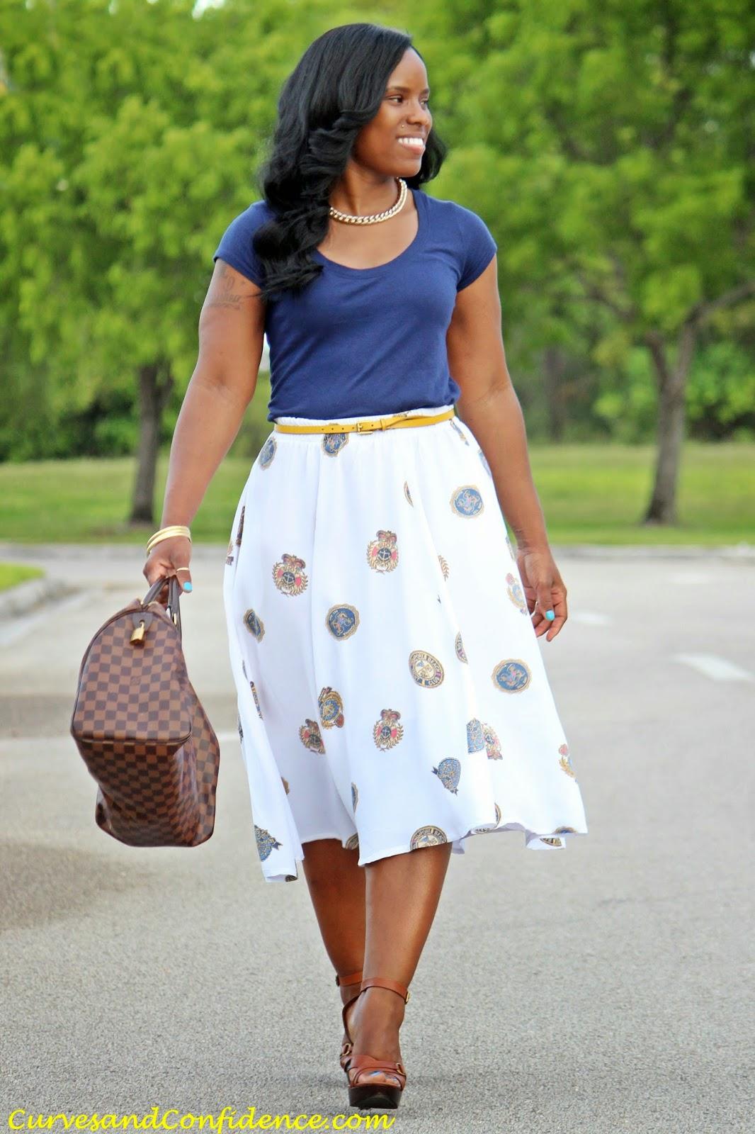 Perfect  Curvy Women Big Girls Black Girls Curves Maxi Skirts Forward Maxi