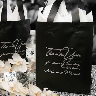 Submit Your Own Artwork Custom Printed 8 x 5 x 10 Frosted Gift Bags