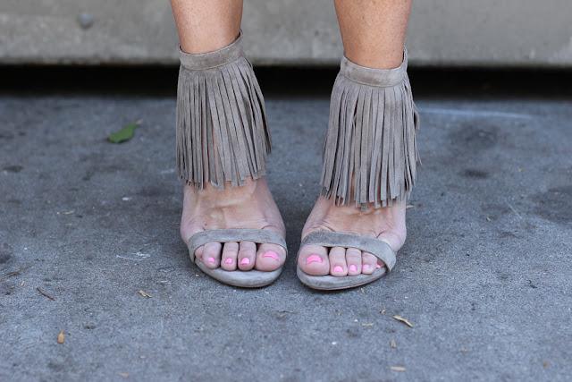 fringe steve madden heels