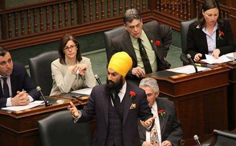SARDAR Saab In Canadian Parliament