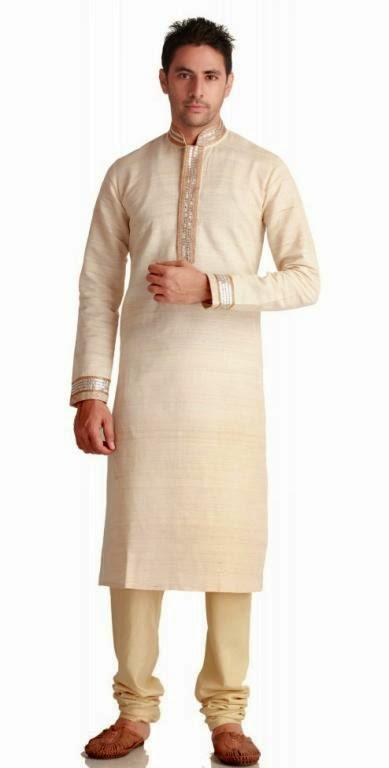 Baju gamis pria model India