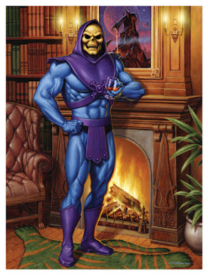 """Skeletor's Lair"" Masters of the Universe Giclee Print by Jason Edmiston x Super7"