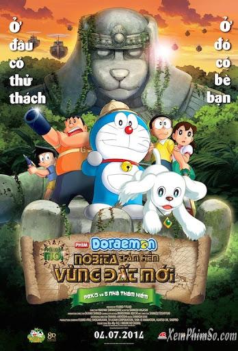 Doraemon 2014 - Doraemon: Nobita Thám Hiểm Vùng Đất Mới