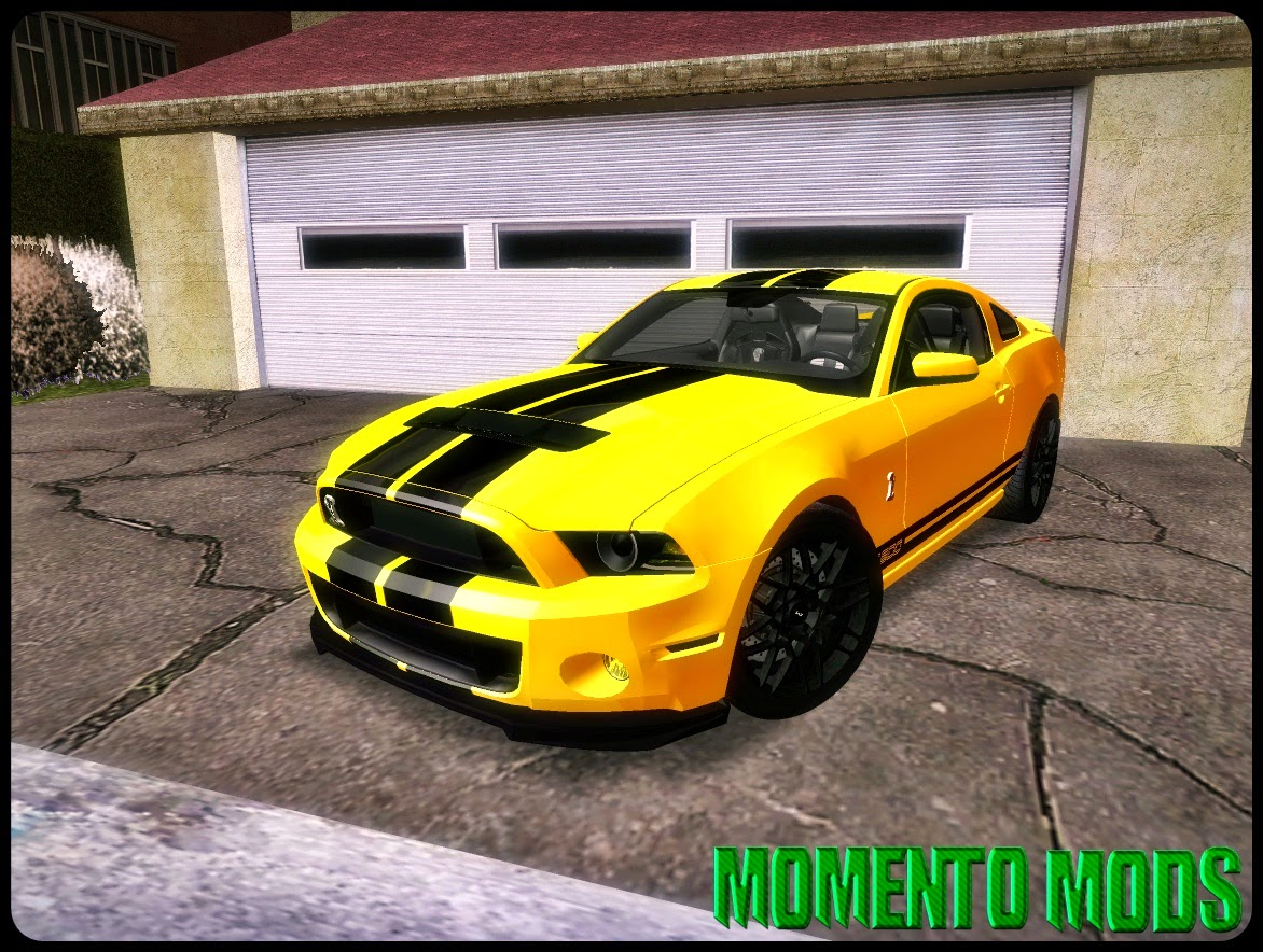GTA SA - Ford Shelby GT500 2013