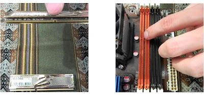 Ranuras de la Memoria RAM