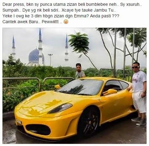 Ferrari Zizan Razak