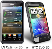 LG Optimus 3D vs HTC Evo 3D