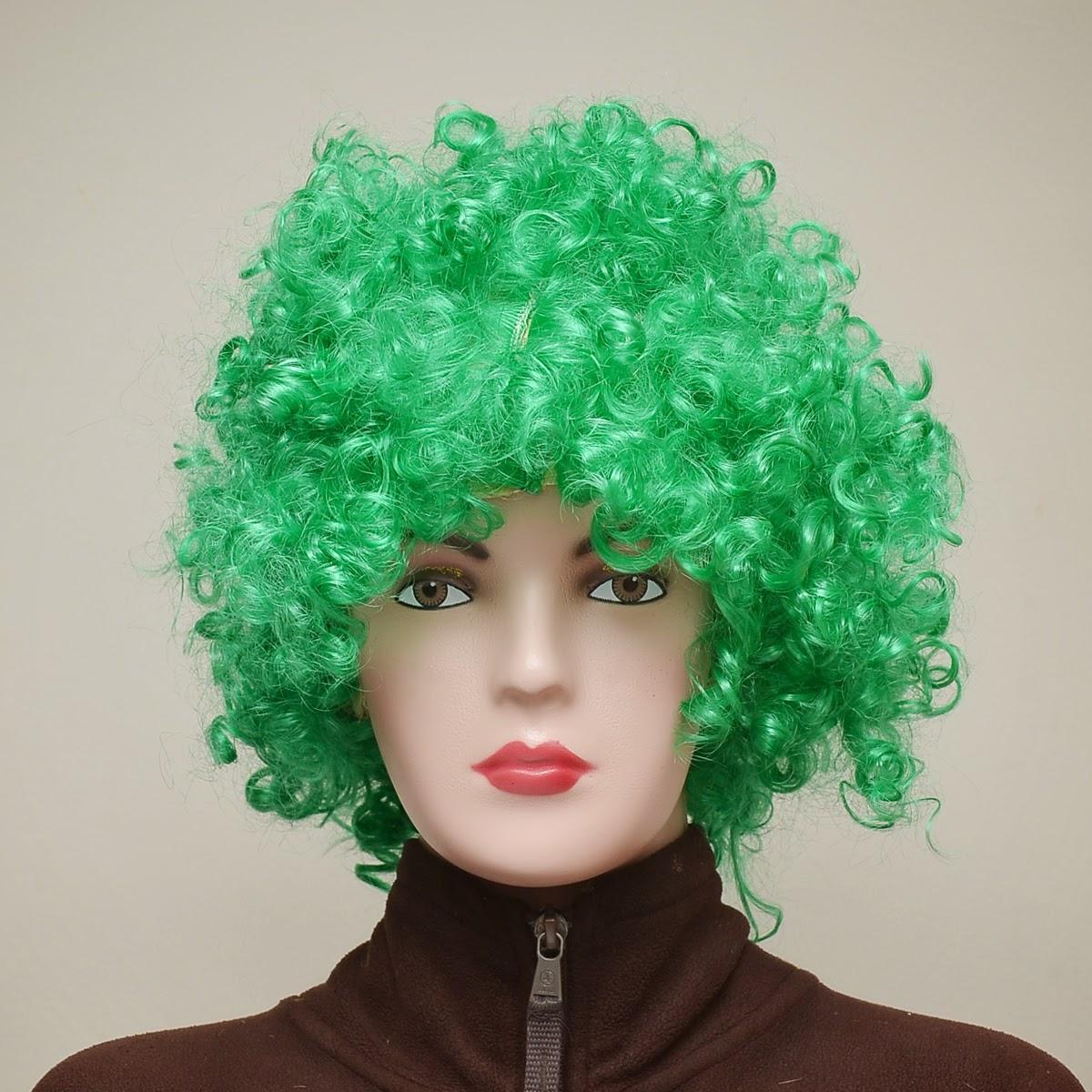 wig kribo keriting
