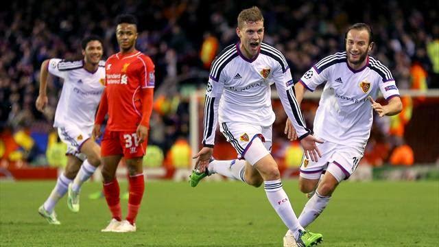 بالفيديو : بازل يصعق ليفربول في عقر داره بتعادل مثير ويتأهل رسميا إلى دور الـ16