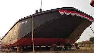 Besok Gubernur Jateng Resmikan Peluncuran Kapal Keruk Karya Putra Daerah