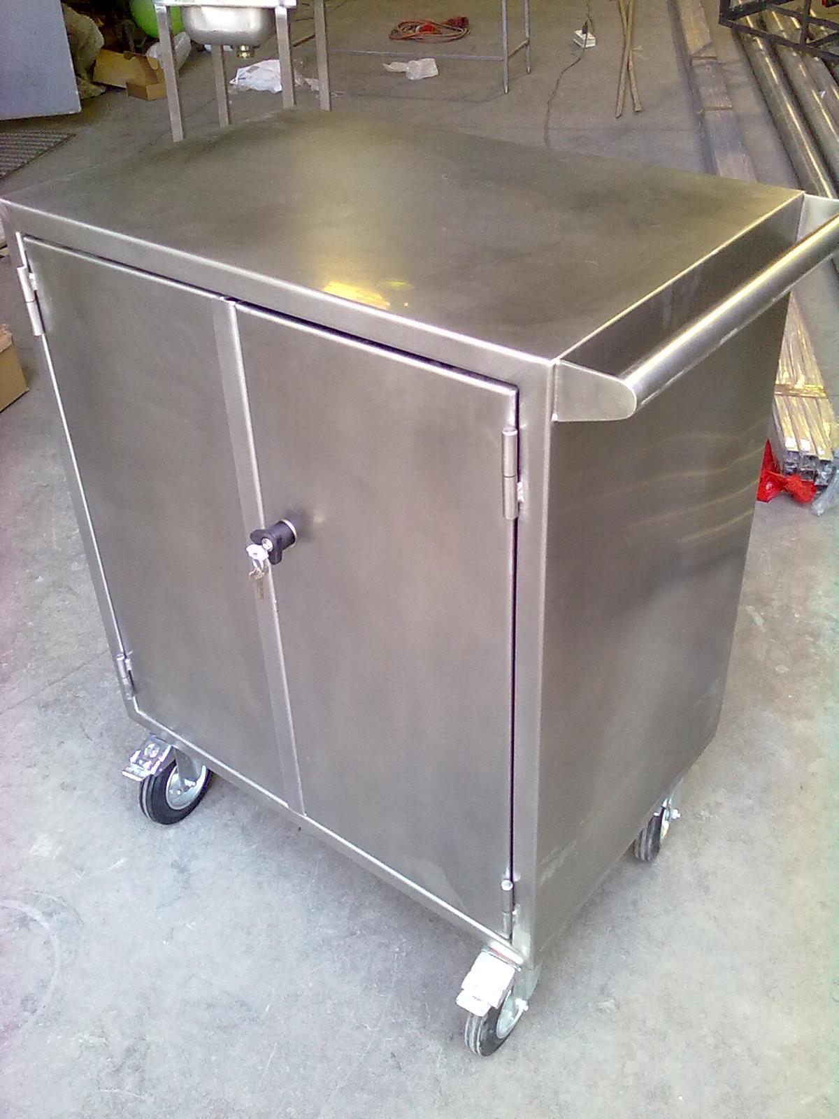 Fabricacion de maquinas y muebles de acero inoxidable for Muebles en acero inoxidable bogota