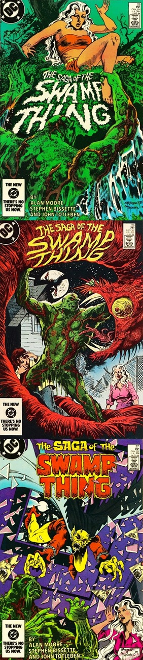Saga of the Swamp Thing # 25, 26 27 - Moore, Bissette Totleben