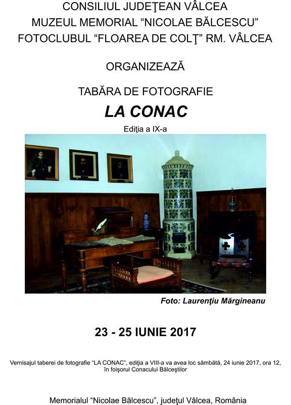 Tabăra de fotografie LA CONAC, ed. a IX - a