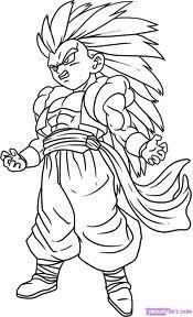 Desenhos para colorir Dragon Ball z