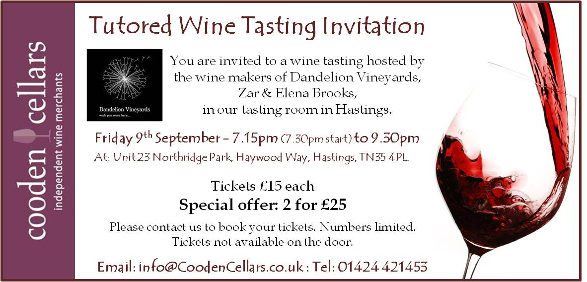 wine tasting invitation template
