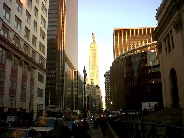 Empire State Building from Madison Square Garden, NYC