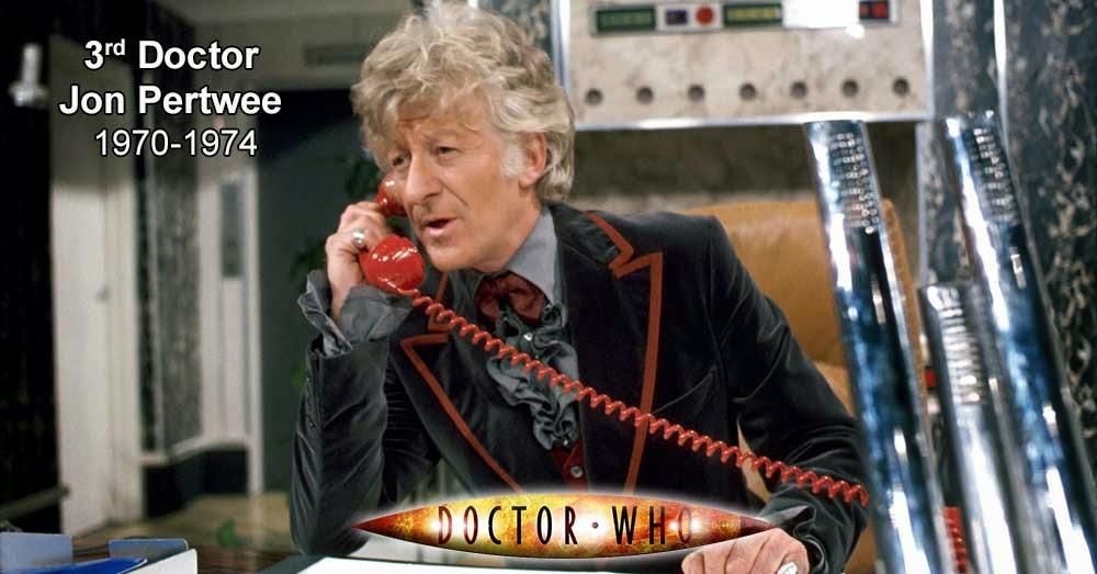 Jon Pertwee, el Tercer Doctor