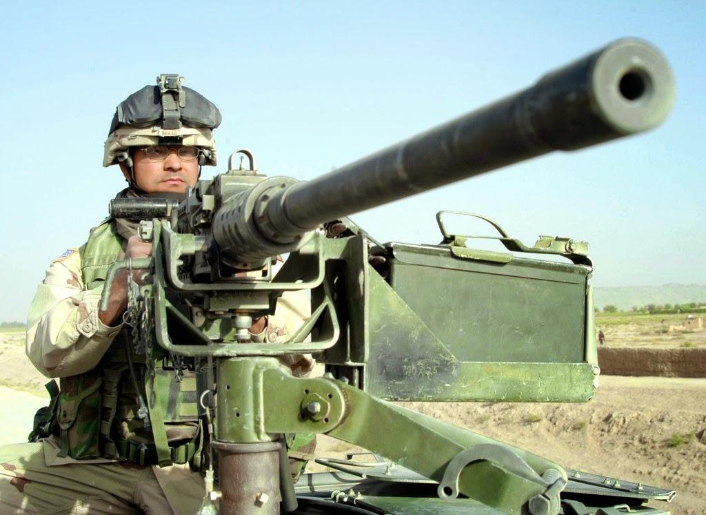 Fdra Fuerza Terrestre Ametralladoras Browning M2