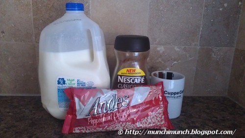 Minty Andes Peppermint Crunch Coffee via http://munchimunch.blogspot.com