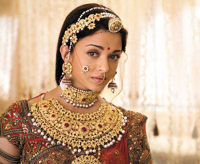 Aishwarya Rai as bride in films