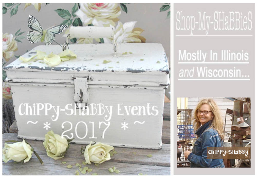 SaVe-The-Dates  *2017* ChiPPy-SHaBBy Selling Venues