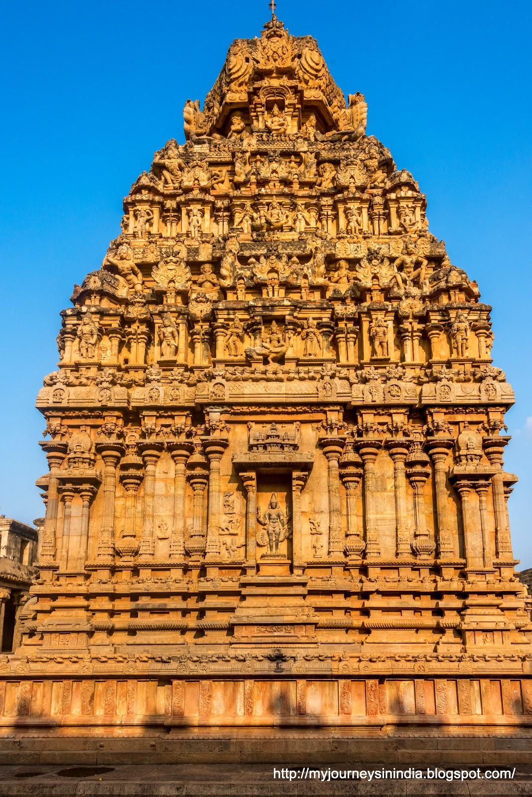 Thanjavur Brihadeeswarar Temple Murugan Temple Tower