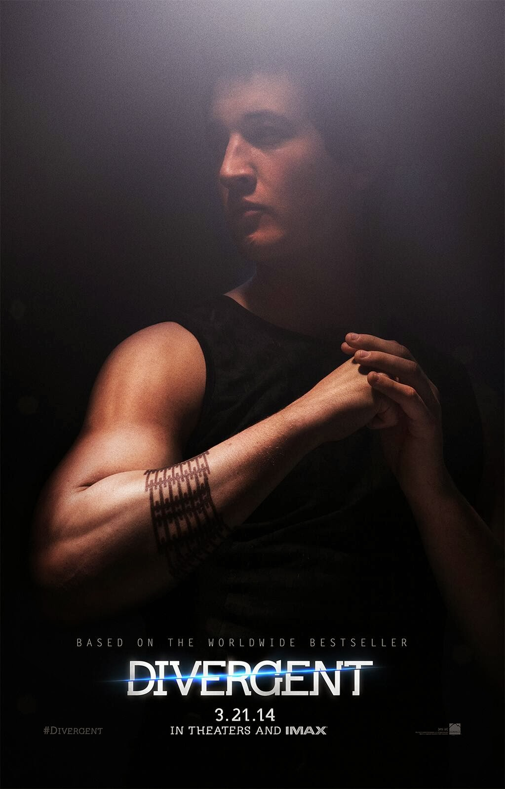 Divergent Peter Character Poster