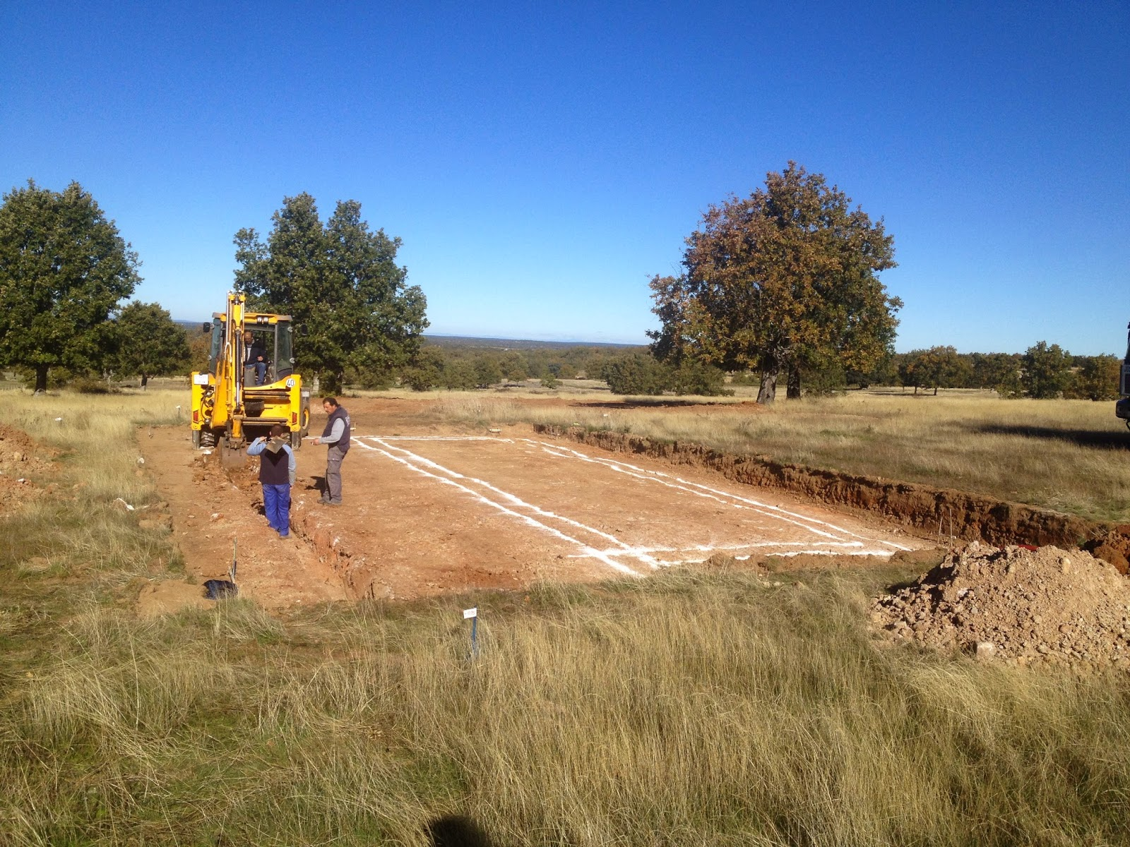Movimiento de tierras para vivienda Resan Modular en Salamanca