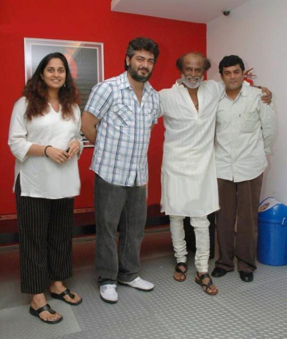 Ajith Family Photos