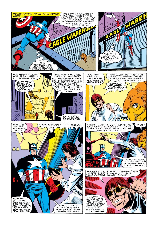 Captain America (1968) Issue #308 #236 - English 17