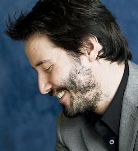 Keanu Reeves - His beard is patchier than his actingPatchy Beard Keanu Reeves
