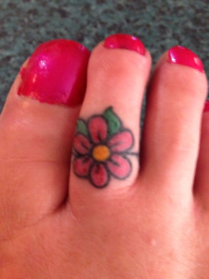 Pin toe ring tattoo designs images on pinterest for Toe tattoos pinterest