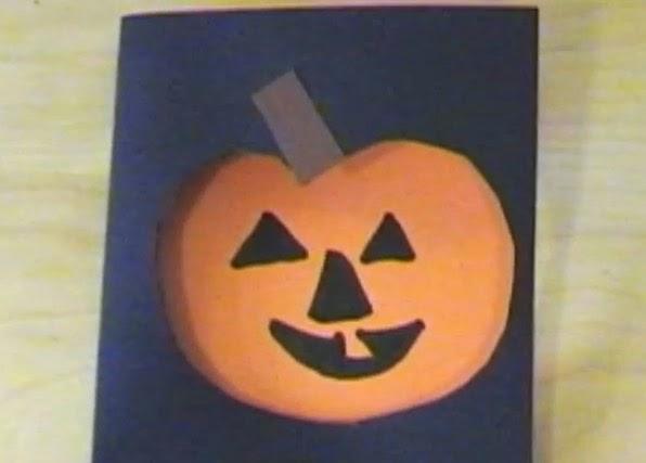 Nemt Halloweenkort