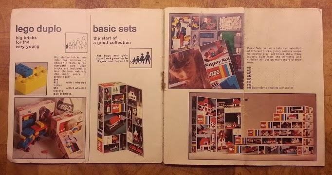 Lego System Lego Duplo 1971 1970's