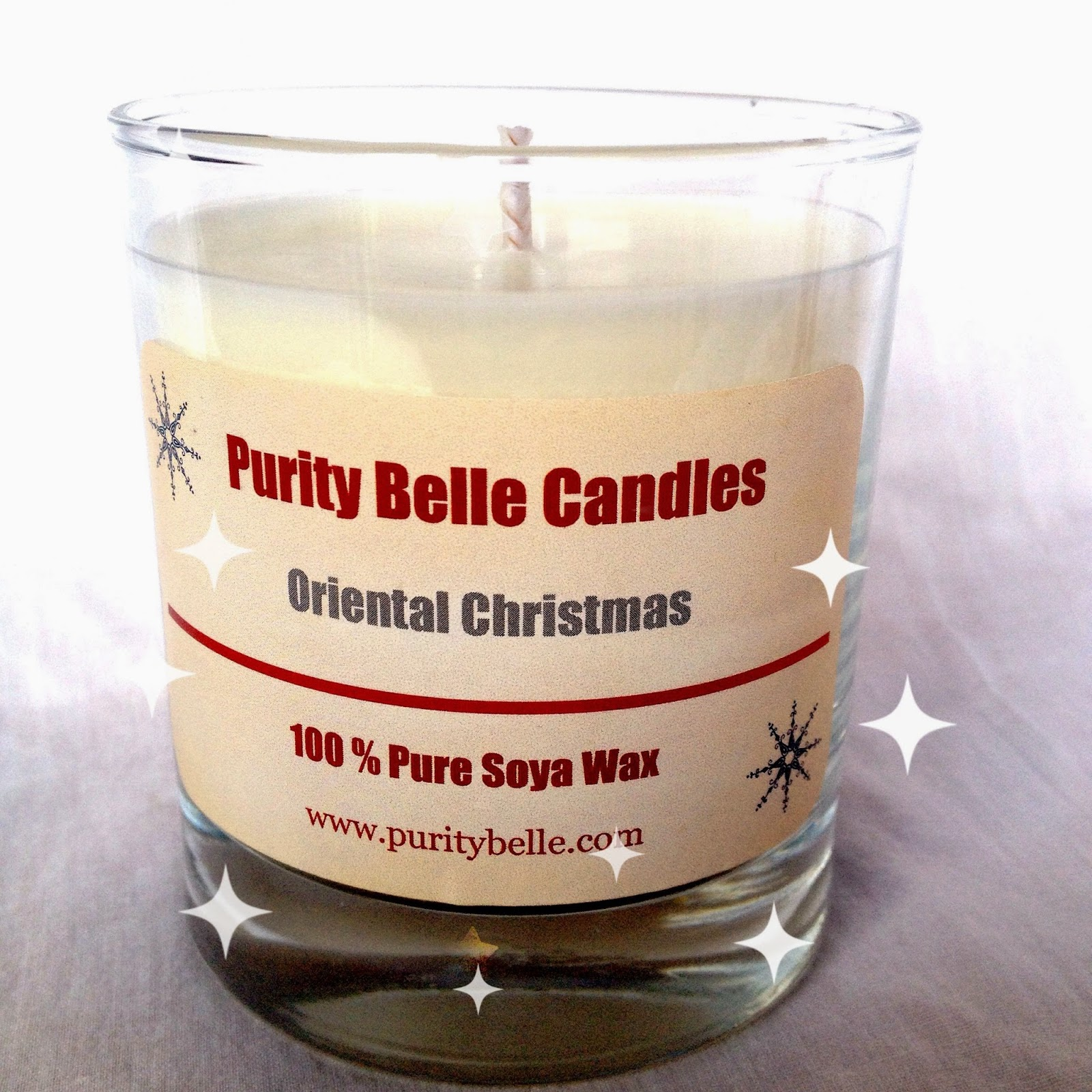 Oriental Christmas Soy Candle Purity Belle