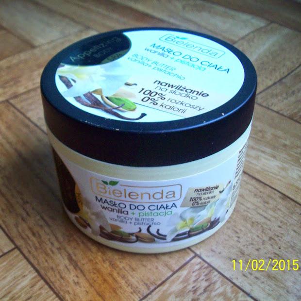 Bielenda masło do ciała wanilia + pistacja