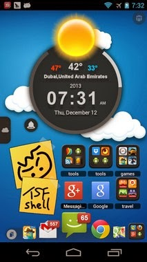 TSF Shell android apk - Screenshoot