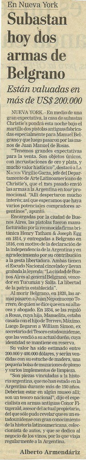 Armas de Belgrano