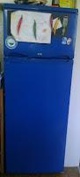 Kühlschrank blau