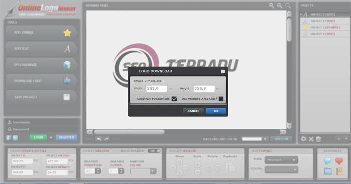 Cara Membuat Logo Online di Situs OnlineLogoMaker 3