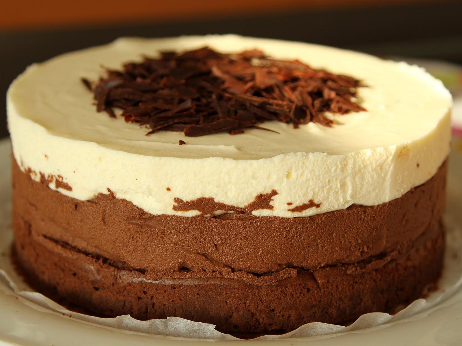 pepsakoy: Triple Chocolate Mousse Cake