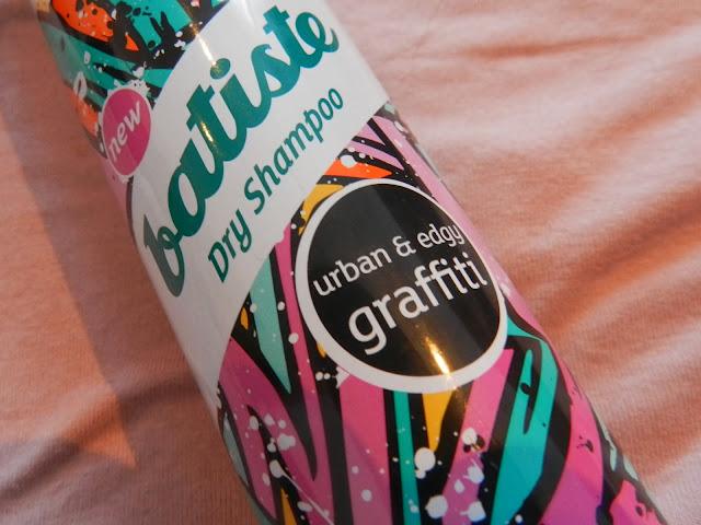 Batiste Dry Shampoo 'urban & edgy Graffiti' scented