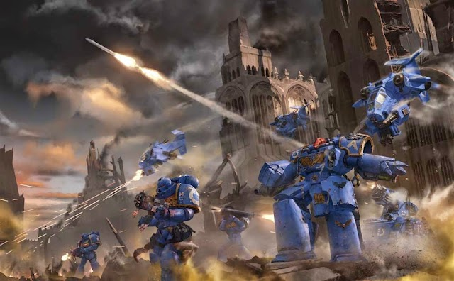 Items Removed.... Space Marines