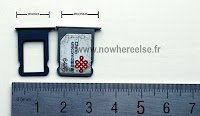 iPhone 5 Nano-SIM Tray