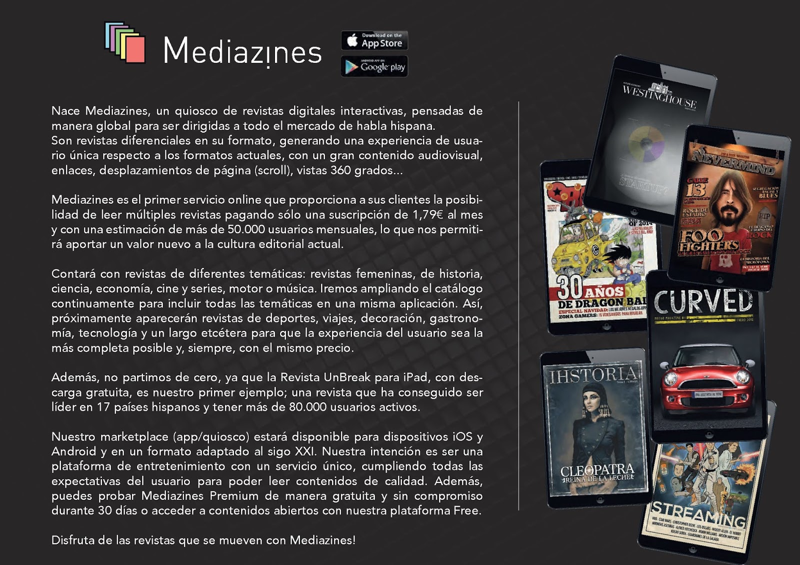 Revista Selfie - Quiosco Mediazines