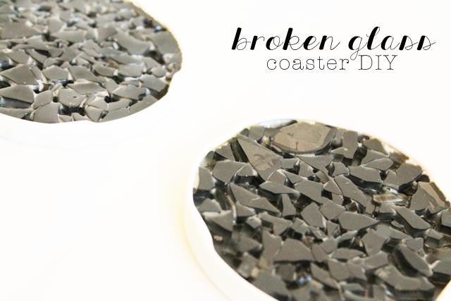 Broken Glass Coaster DIY