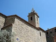 Vista lateral de l'església Vella de Santa Maria d'Oló. Autor: Carlos Albacete