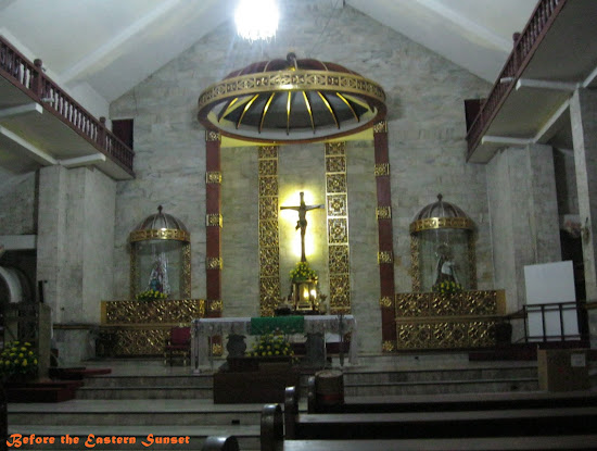 Danao City Church altar